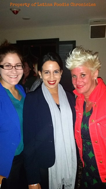 Pic with chef Anne Burrell