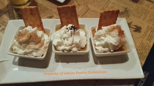 Mini Crème Brûlée  Trio