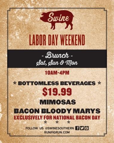 Swine Labor Day Brunch
