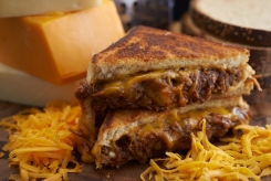 BBQ Pulled Pork Melt