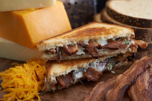 Grilled Blue & Bacon Melt