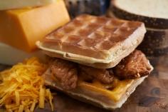 Southern Fried Chicken & Waffle Melt
