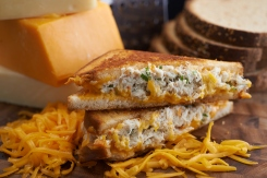 Crabby Cheese Melt